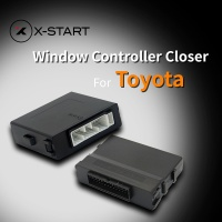 X Start Car Power Automatic Roll Up Window Closer Opener One Touch Up Down For Toyota