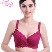 NVPAIMEIMEI New Large Size Bra 3 4 Cup Thin Section Summer Bra Adjust Plus Size Lingerie