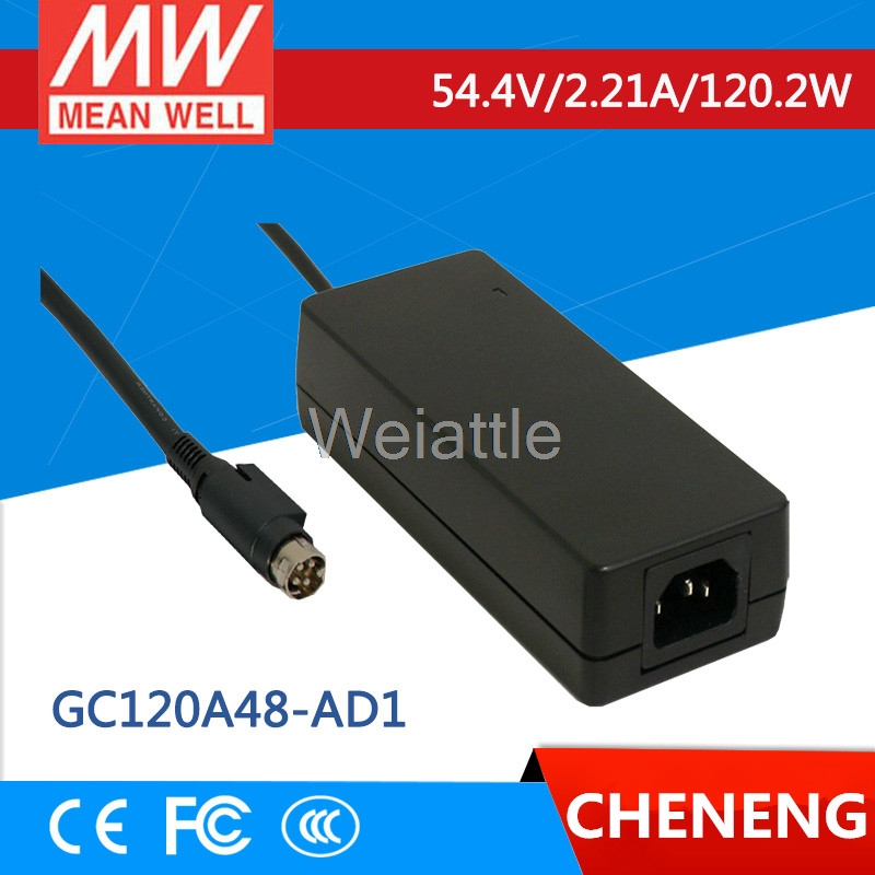 MEAN WELL original GC120A48-AD1 54.4V 2.21A meanwell GC120 54.4V 120.2W Single Output Battery ChargerMEAN WELL original GC120A48-AD1 54.4V 2.21A meanwell GC120 54.4V 120.2W Single Output Battery Charger