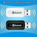 Portátil bluetooth usb Adaptador receptor de Música Sem Fio Carro De Áudio Estéreo de 3.5mm Bluetooth Dongle Receptor para speaker iphone mp3