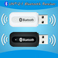 Portátil usb bluetooth Estéreo Adaptador del receptor de Música Inalámbrico de Audio Del Coche 3.5mm Bluetooth Dongle Receptor para el altavoz iphone mp3