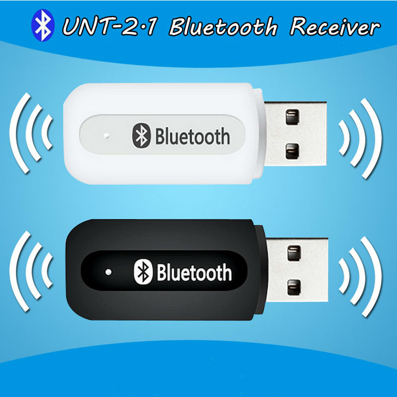 Portable Usb Bluetooth Stereo Music Receiver Adapter Wireless Car Audio 3.5mm Bluetooth Receiver