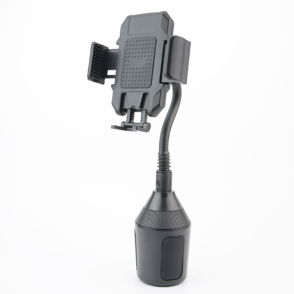 Universal Portable Car Bracket 360 Degree Adjustable Auto Cup Mobile Phone GPS Black Holder Magnet Car