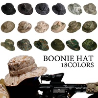 Gorra táctica de camuflaje para hombre, sombrero Boonie militar, Ejército estadounidense, Camuflaje, deportes al aire libre, para el sol, pesca, senderismo, caza