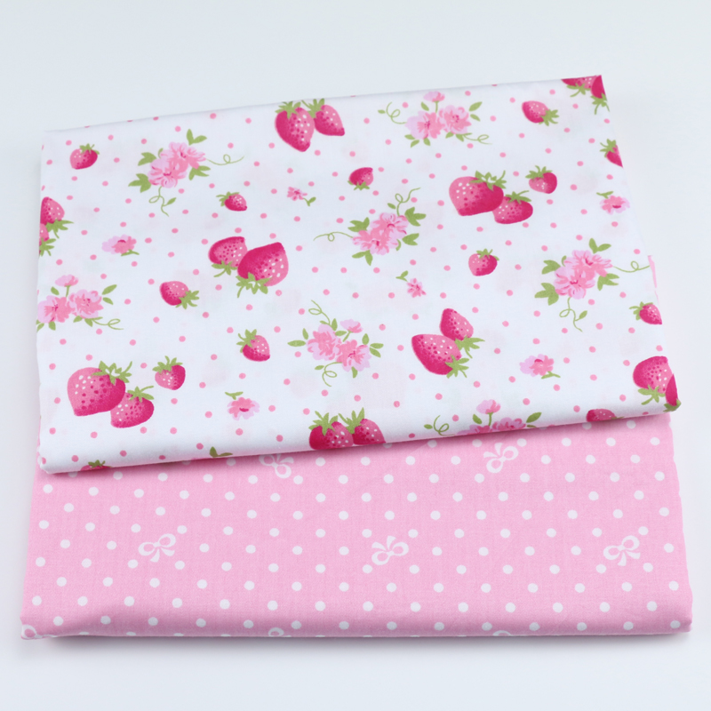 Tilda Cottage Buttons Fabric Covered 10 x 10 x 2 cm Cotton Blend Assorted
