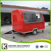 KN 290B Mobile Food Carts Trailer Ice Cream Truck Snack Food Carts Customized For Sale With