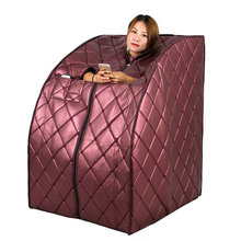 Luxury Far Infrared Portable Sauna  Slimming Weight Loss Negative Ion Detox Therapy Radiant Rejuvenator Foot Heat Plate