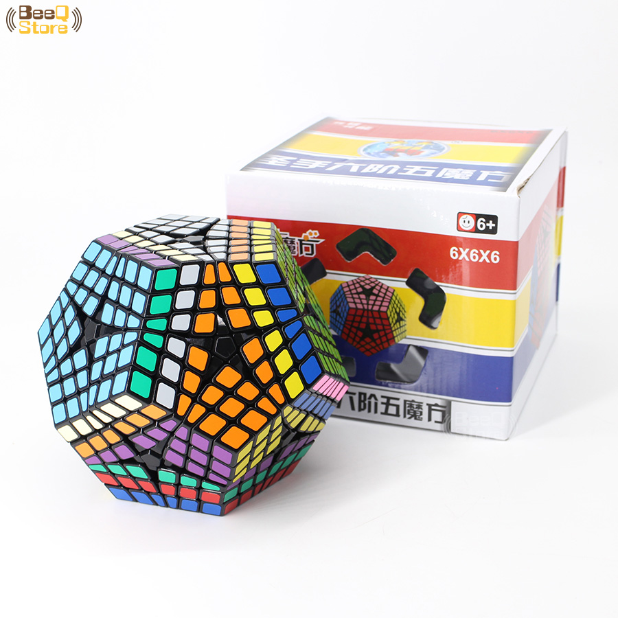 Shengshou Wumofang 6x6x6 Magic Cube Elite Kilominx 6x6 Professional Dodecahedron Cube Twist Puzzle Educational Toys