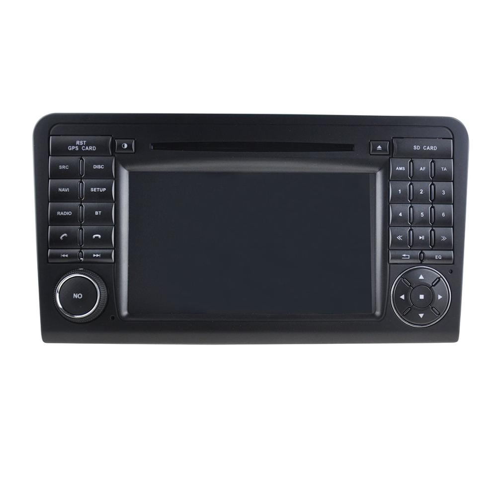 For 8″ Quad core android 5.1 Mercedes ML350 2005-2012 Car DVD player GPS Tape Radio Bluetooth 3G SD RDS DDR 3 1GB MP5 16G flash