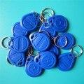 Free Shiping 10 pçs/lote 125 khz RFID Keyfobs EM4100 TK4100 ID Cartão de Controle de Acesso Ao Cartão
