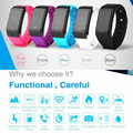IP67 X7 Heart Rate Monitor Smart Band Touch Screen Waterproof Swim Wristbands Fitness Tracker Bracelet PK Xiaomi Mi band 2
