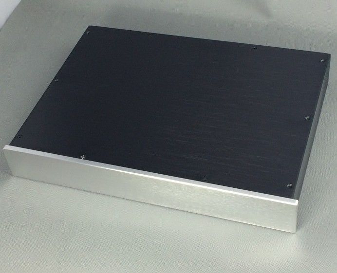 ФОТО BZ4306 Aluminum enclosure /DAC case/ amplifier chassis BOX for DIY