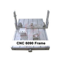 CNC milling machine frame 6090 for wood engraver metal engraving cnc router with 80mm spindle clamp