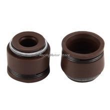 NICECNC 5mm Engine Valve Stem Oil Seal For Honda C70 CL70 XL70 SL70 CA175 CB175 CB450 CL90 CT90 S90 CB750 Z50A XR250R CRF230 ##