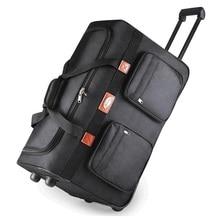 """26 """"32"""" caso de embalagem Extra longa viagem oxford roda Rolando saco da bagagem do trole saco de viagem À Prova D' Água, Verificado bagagem de mão(China (Mainland))"""