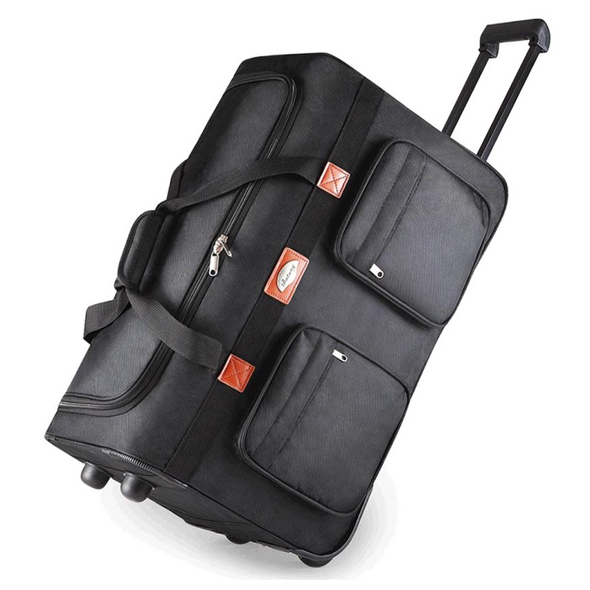 """Prix pour 26 """"32"""" long voyage emballage cas D'appoint oxford roue de Roulement Étanche chariot bagages sac voyage sac, Vérifié bagages à main"""