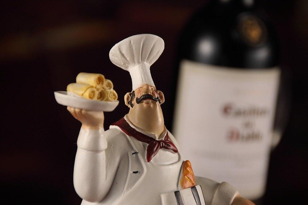 Chef Vinho Estantes Criativas Artesanato Enfeites de