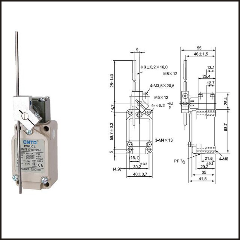 WRG-9303] Limit Switches Wiring Diagram Dc Travel on