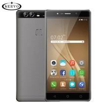 D'origine Téléphone SERVO NOTE 4X5.5 pouces Android 6.0 MTK6580M Quad Core 1.3 GHz ROM 4 GB Caméra 5.0MP Dual SIM GPS WCDMA Mobile téléphone