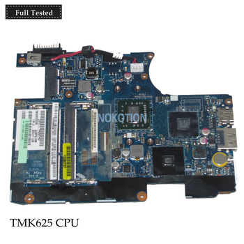 NOKOTION LA-6032P K000106360 For toshiba satellite T235 T235D Laptop motherboard DDR3 Turion Neo TMK625 CPU Mainboard