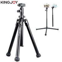 KINGJOY Official SC056 Mini Tripod For Camera With Selfie Stick Holder Tripod For Phone Gorillapod Mobile tripode Para Movil