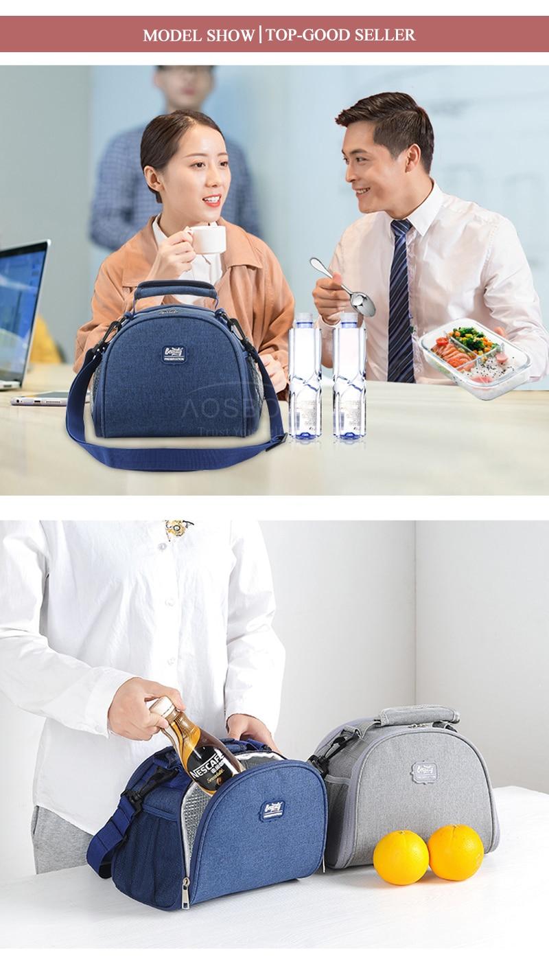 sólido isolado sacos de comida de ombro