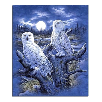 Oneroom Dmc Cross Stitch Series Home Decoration 14/16/18/28 Diy Needlework Kits Embroidery Cross Stitch Kit Owls