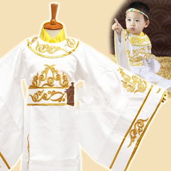 Fenglingfu Ancient Chinese Shang Dynasty Prince Infant Baby Costume Boy Costume 90-120cmH