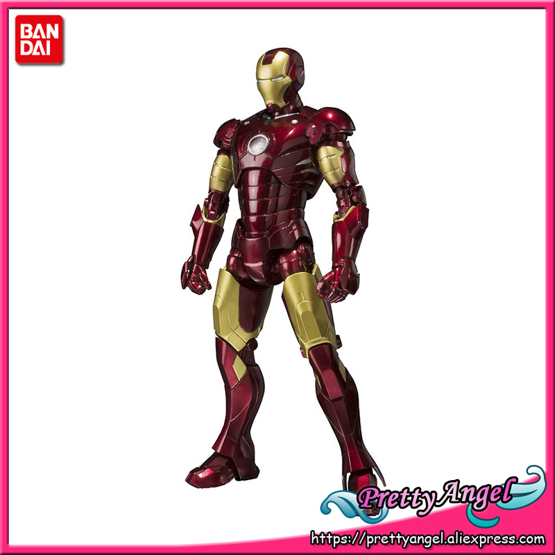 Brettyangel-véritables esprits BANDAI Tamashii Nations S. H. Figuarts SHF Iron Man Mark 3 figurine