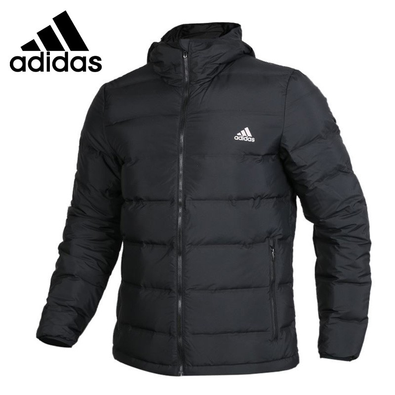 Original New Arrival  Adidas Helionic Ho Jkt Men's Down coat Hiking Down Sportswear