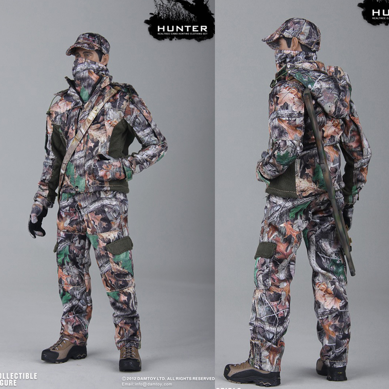 1//6 scale Dam Toys Hunting RealTree Camouflage Cap