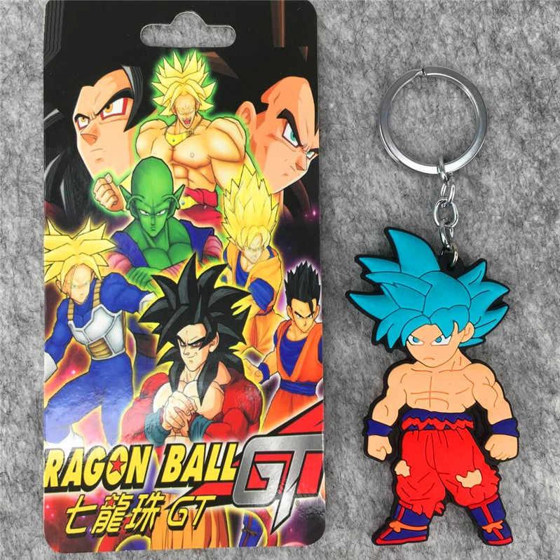 IVYYE 1 pcs 8 cm Papel De Dragon Ball Anime Action Figure PVC Modelo Coleção Figuras Bonitos Dos Desenhos Animados Brinquedos Chaveiro Unisex presentes