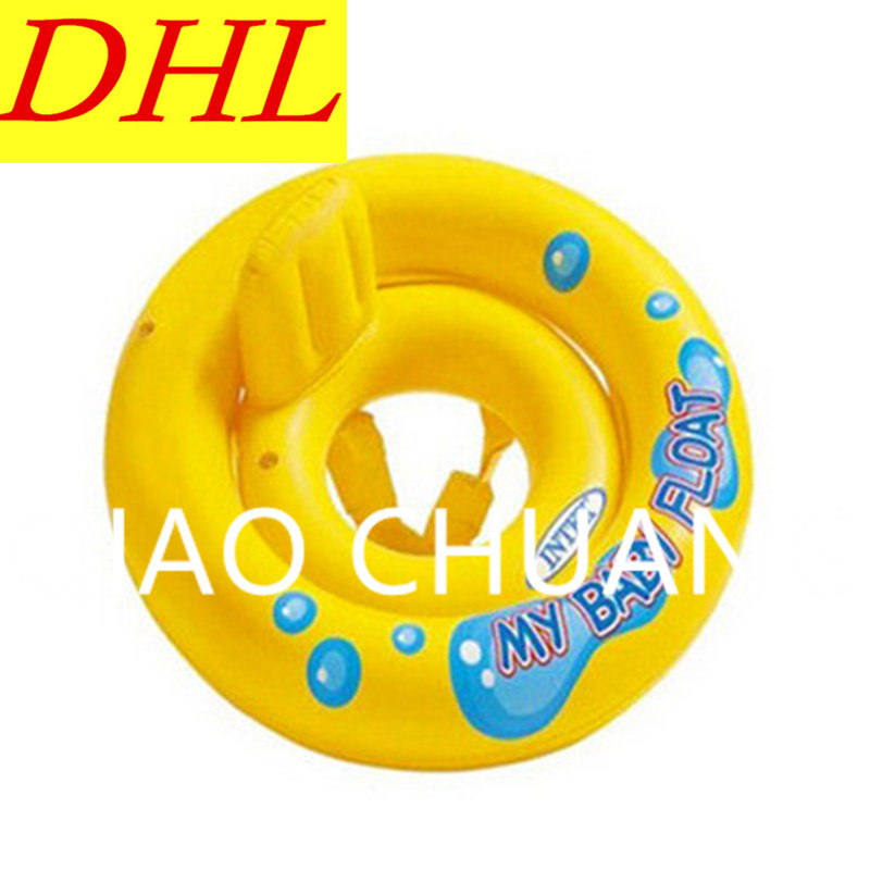 Wholesale 200pcs/lot Inflatable Cartoon Children Swimming Ring Housing Washer PVC Thicken Play With Water Toy G1357