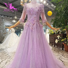 AIJINGYU Designer Wedding Dresses Indian Long Gowns