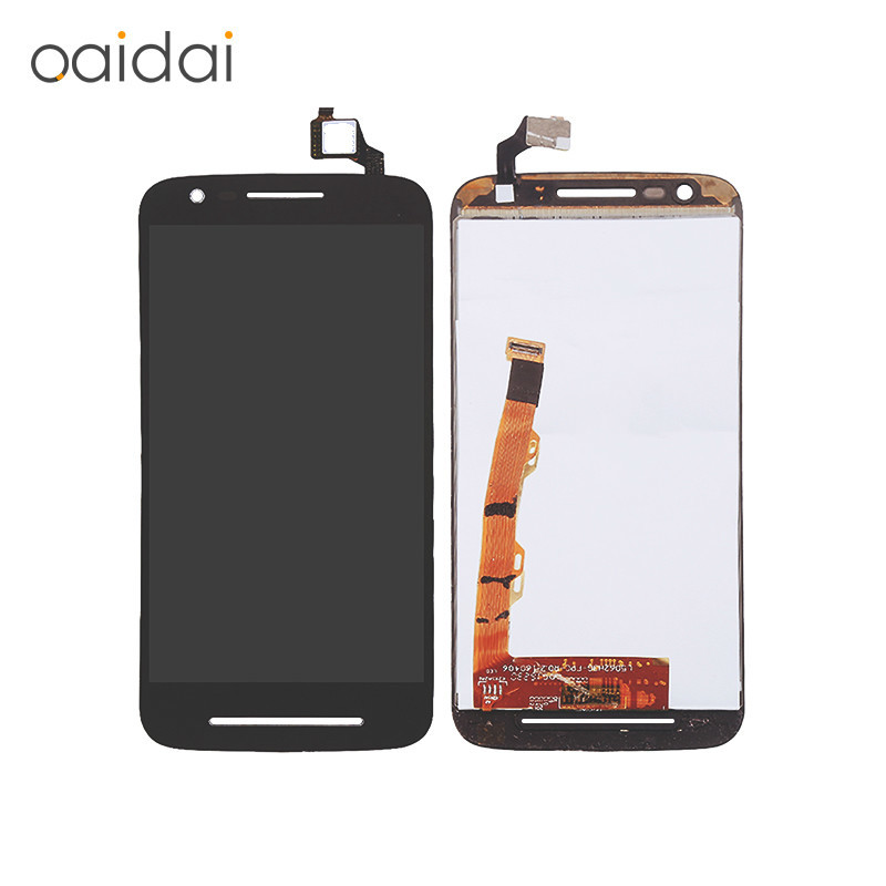 For Moto E3 XT1700 XT1706 LCD Display Touch Screen Mobile Phone Lcds Digitizer Assembly Replacement Parts With Free Tools
