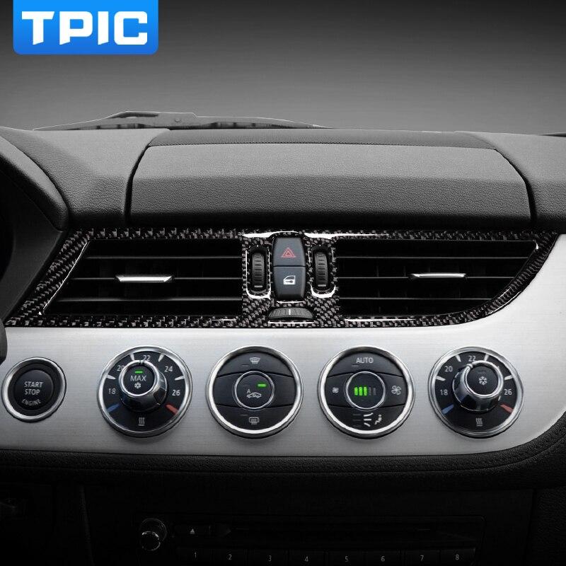 Bmw Z4 M Coupe Interior: For BMW Z4 E89 2009 2015 Carbon Fiber Car Interior Central