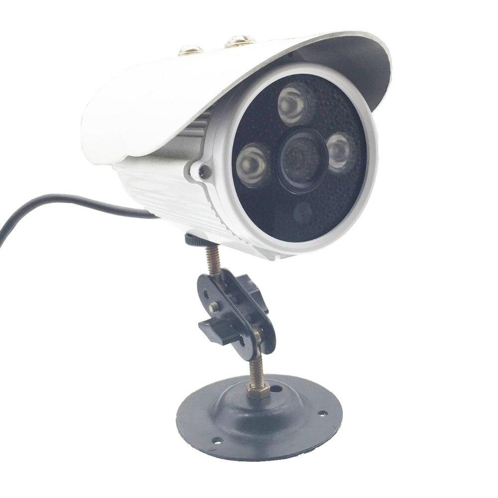 720P AHD 1MP 3.6mm Len Security Surveillance Cameras Outdoor & Indoor Waterproof 3 LED Infrared Bullet NTSC PAL CCD CCTV Camera sannce cctv camera 720p 1mp 1200tvl ahd camera outdoor waterproof bullet security camera for ahd dvr surveillance system