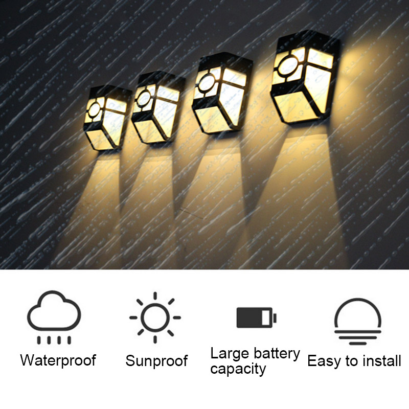Vintage Solar Powered Wall Mount LED Light Outdoor Garden Path Landscape Yard Lamp DropshippingVintage Solar Powered Wall Mount LED Light Outdoor Garden Path Landscape Yard Lamp Dropshipping