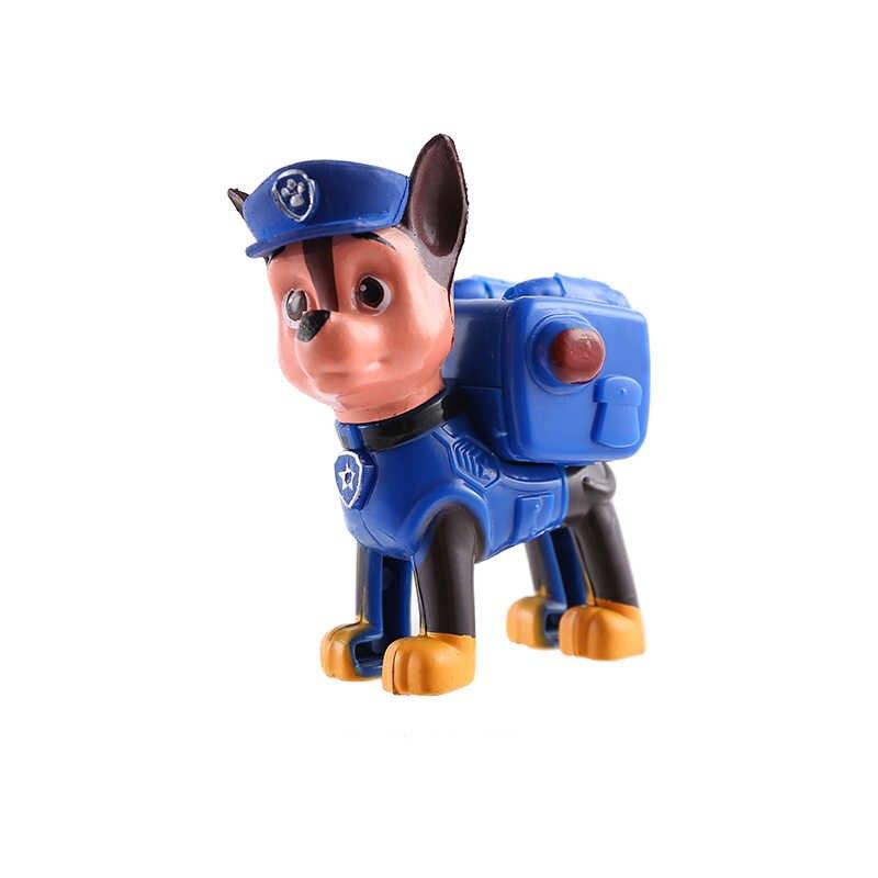 Filhote de cachorro pata Patrulha Canina Patrulha Anime figura Figuras de Ação Brinquedos para Crianças Brinquedo patrulha Canina Patrulhando 14 Estilos Disponíveis