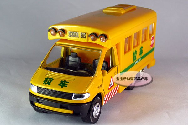 Free shipping-Di Yaduo classic American school bus /school car/ alloy model car / puzzle toy Christmas gift