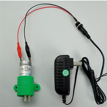 6 В двигатель постоянного тока Микро Воздух-жидкость мембранный насос конфигурации Питание