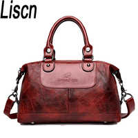 Women's shoulder bag European and American style handbag waterproof large capacity leisure or travel bag overnight