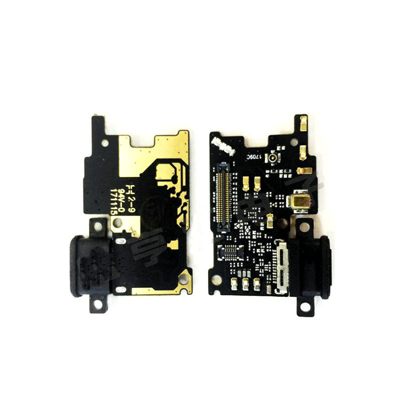 New Microphone Module+USB Charging Port Board Flex Cable Connector Parts For Xiaomi Mi6X Mi A2 / Mi6 Replacement