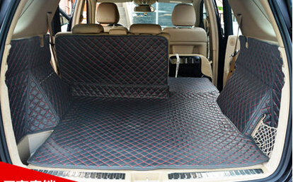 Newly mats! Special trunk mats for Mercedes Benz ML550 2014 durable waterproof carpets for Benz ML 550 2015-2012,Free shipping