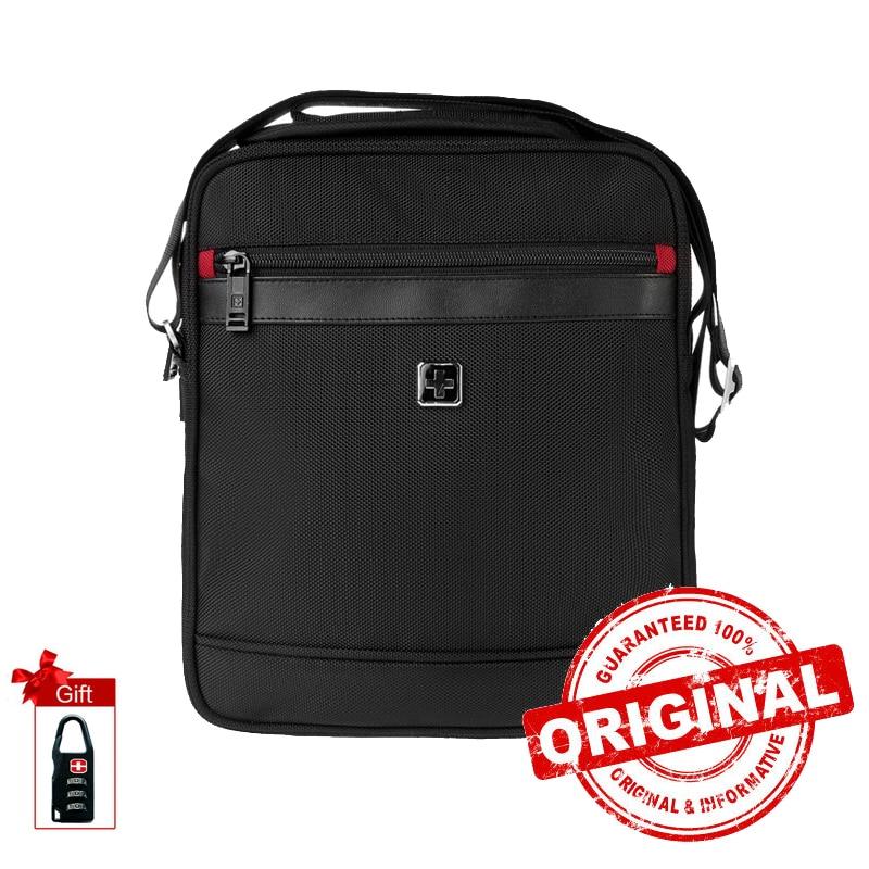 Swisswin Swiss Men Messenger Bags 11 inch Waterproof Shoulder Bag 11 inch Women Messenger Satchels la
