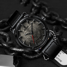 Luxury Sports Creative Men Watches Top Brand Quartz Clock Fashion Leather Strap Military Waterproof Watch Relogio Masculino 2019