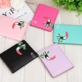DreamShining Women Business Card Holder Wallet Cute Love Bird Money Wallet Short Mini Woman Clutch PU Leather Purse ID Holder