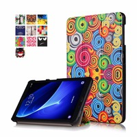 PU Leather Case For Samsung Galaxy Tab A 10 1 A6 T580N T585 Protective Stand Case