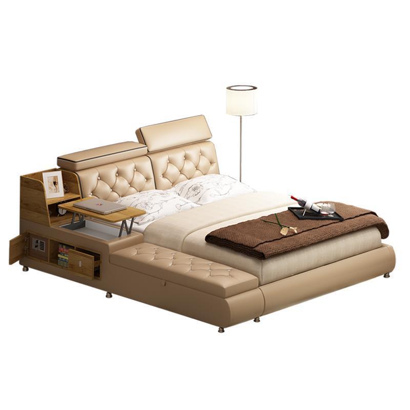 купить Kids Totoro Mobili Per La Casa Lit Enfant Yatak Odasi Mobilya Leather Mueble De Dormitorio bedroom Furniture Cama Moderna Bed по цене 178736.19 рублей