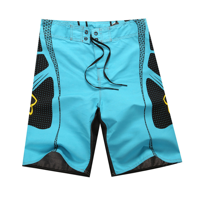 060454c18e HOT sale Israeli fox boardshorts beach shorts for men's new summer Blue red  Yellow green men's sports shorts plus size 5XL